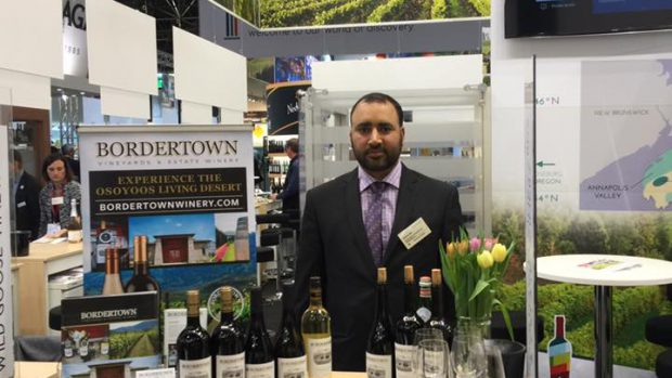 Bordertown at Prowein in Düsseldorf